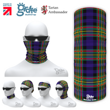 MacLellen Clan Tartan Scottish Bandana snood Multi-functional  headwear ski bike run sport