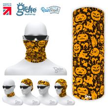 G684 Halloween Pumpkin Mask Multifunctional Headwear Tube  Bandana