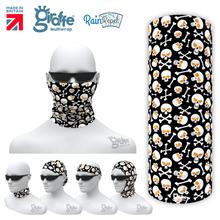 G685 Halloween Skull mix Mask Multifunctional Headwear Tube  Bandana