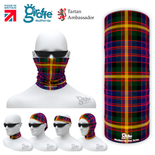 MacSporan Clan Tartan Scottish Scotland Bandana snood Multi-functional  headwear ski bike run sport