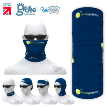 Limesystems Blue  Multifunctional Headwear Tube  Bandana