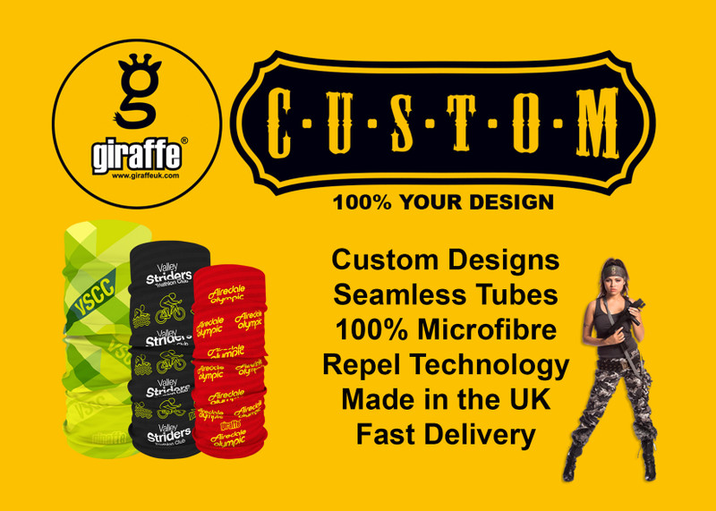 Custom Seamless Tube Bandanas