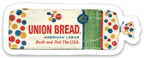 UNION BREAD TRUCK DECAL!!