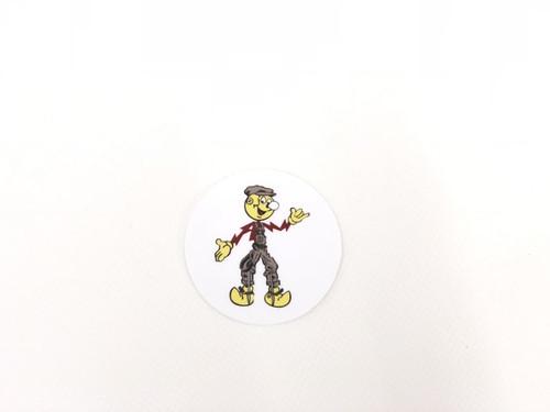 Reddy Chillowatt Hardhat Sticker