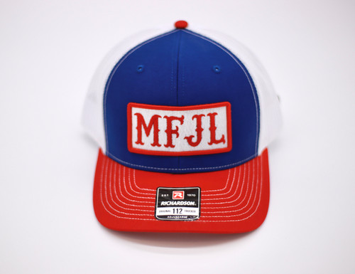 Red, White & Blue MFJL Trucker