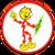 Reddy Kilowatt Hardhat Sticker
