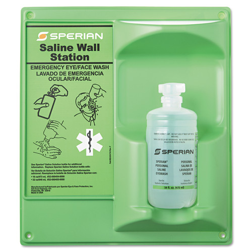 Sperian 32-000460-0000 Eyewash Wall Station (16 oz. bottle)