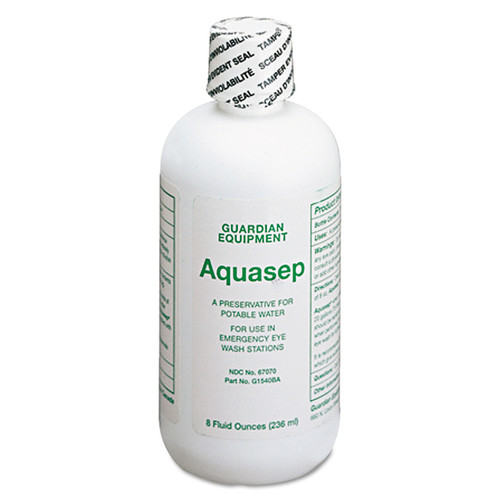 GUARDIAN EQUIPMENT G1540BA AquaGuard Bacteriostatic Additive (8 oz.)