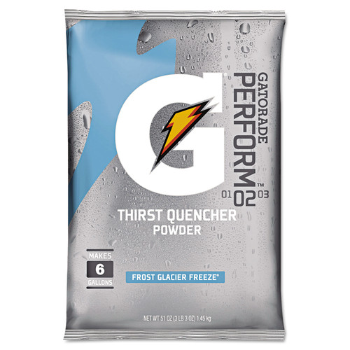 Gatorade 33676 Glacier Freeze 51 oz Powder Packets (14/Case)