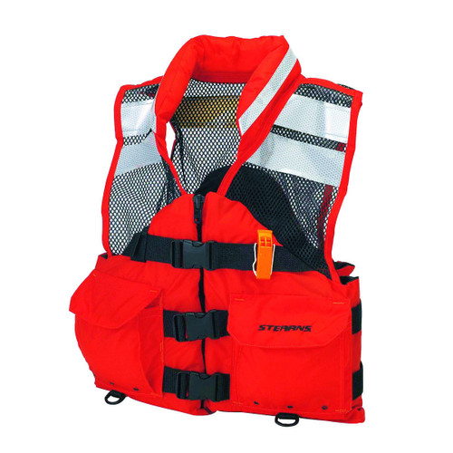Stearns I426ORG Search and Rescue Flotation Life Jacket