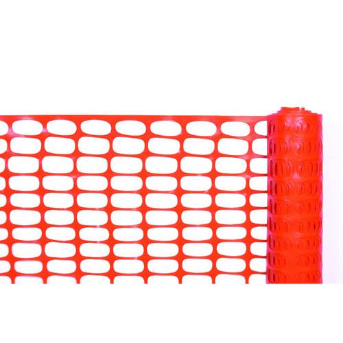 Cortina 03-902 4' X 100' Lightweight Barrier Orange Fencing