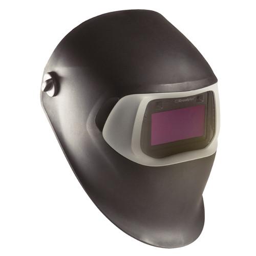3M 07-0012-10BL Speedglas Auto-Darkening Black Welding Helmet
