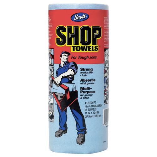 Scott 75130 Super Strong Towels, Shop Towels in a Roll (30/Case)