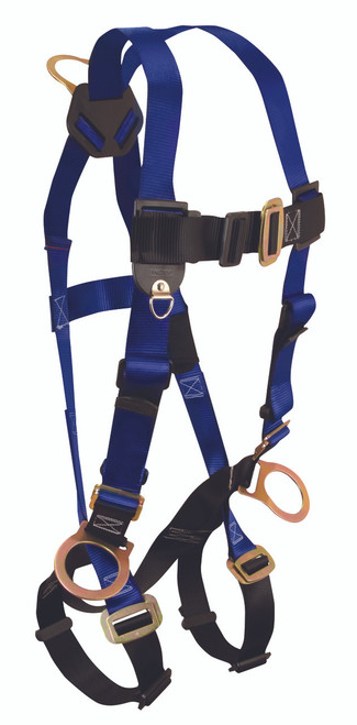 FallTech 7017 Contractors Full Body Harness with Side D-Rings
