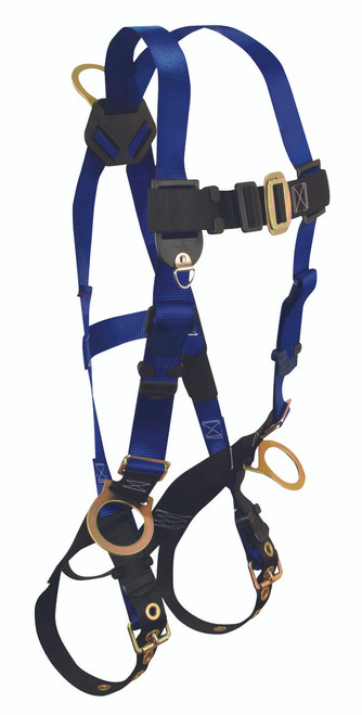 FallTech 7018 Harness with Side D-Rings and Tongue Buckle Legs