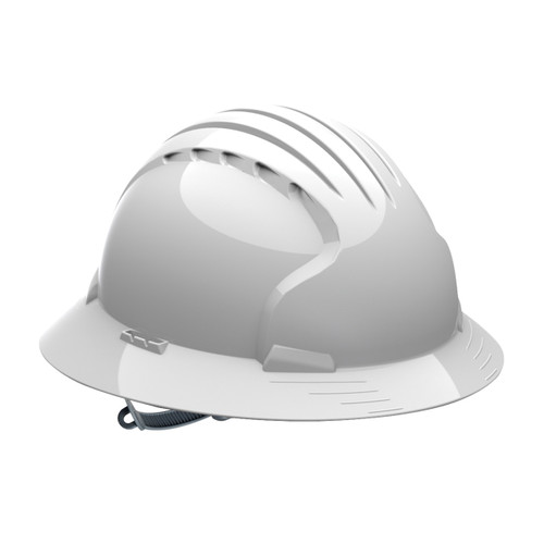 PIP 280-EV6141-10 Full Brim Hard Hat with Slip Ratchet Adjustment