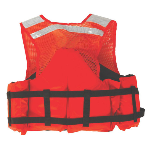 Stearns I424ORG Industrial Work Zone Life Vest
