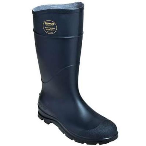 "Servus 18821 Steel Toe Enhanced Traction Knee 16"" High Black Boots"