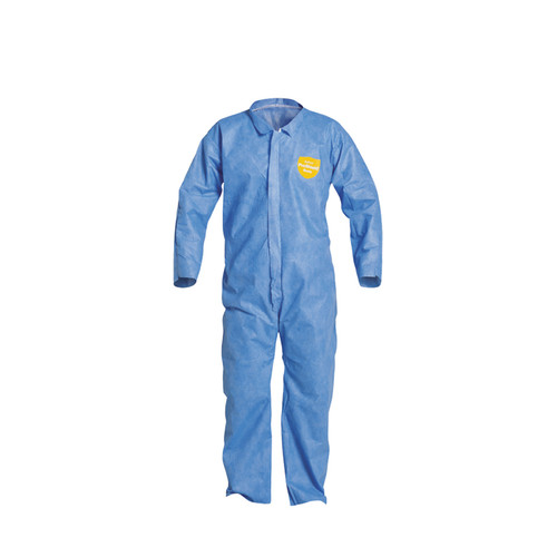 Dupont PB120SB Comfort Design Coverall with Zipper 25/Case