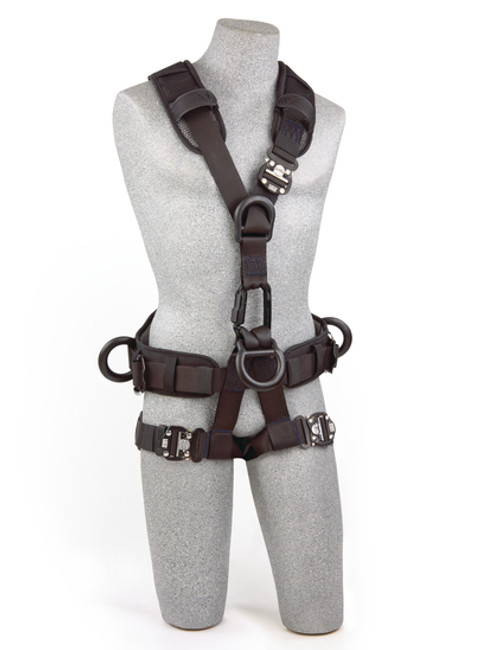 DBI SALA  ExoFit NEX Rope Access/Rescue Harness - Black-Out