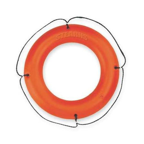 Stearns I030ORG-00-REF Type IV Ring Buoy with Reflective Tape
