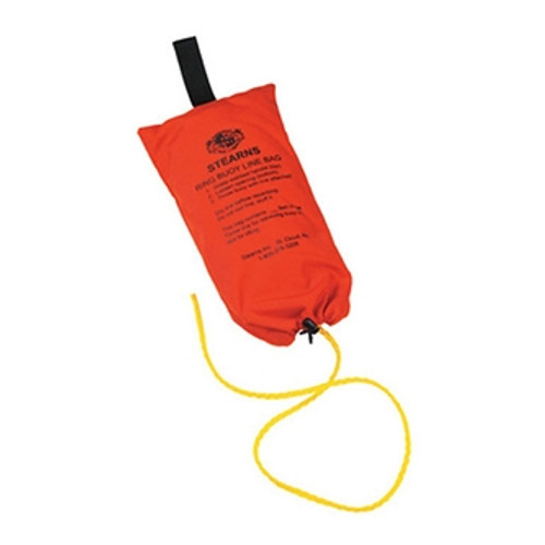 Stearns I023ORG-00-000 Ring Buoy Rope with Bag 90 ft
