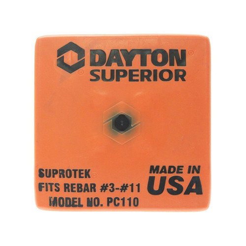 Dayton Superior PC110 Rebar Caps Fits Size #3- #11 (100 Pack)