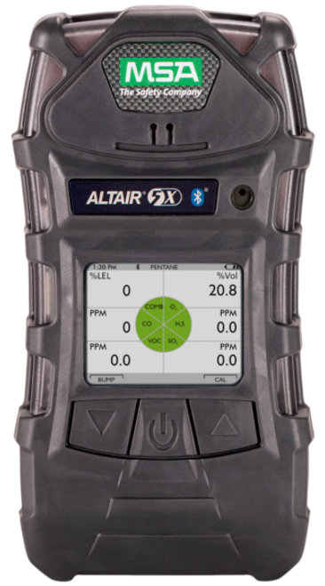 MSA 10116928 Altair 5X Detector + Color Display with Kit (LEL, O2 , CO, H2S)