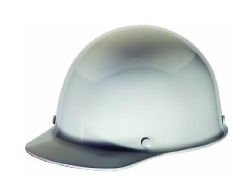 MSA 475396 White Skullgard Hard Hat with Ratchet Suspension Cap Style