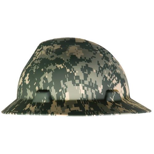 MSA 10104254 Camouflage Freedom Series V-Gard Full Brim Hard Hat