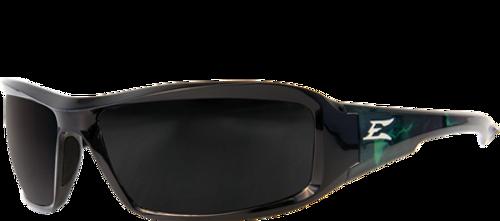 Edge Eyewear TXB216-A1 Brazeau Designer Polarized Smoke Lens