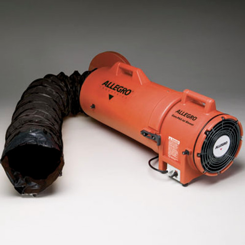 Allegro 9538-15 Heavy-Duty Explosion Proof Blower with 15' Ducting