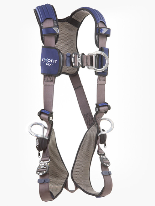 Protecta AB17611 Crossover Harness with Side /& Back D-Ring Universal