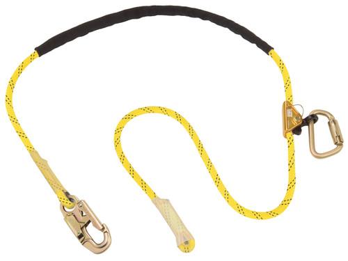 DBI SALA 1234070 Pole Climber's Adjustable Rope Positioning 8' Lanyard