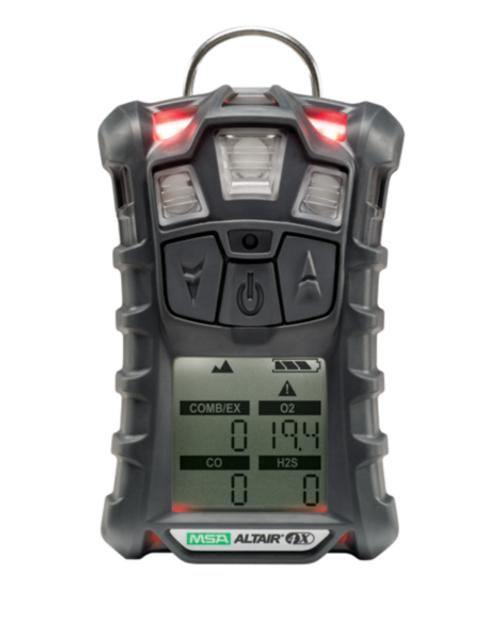 MSA 10110445 Altair 4X Multiple Gas Monitor Technology (LEL, O2, CO)