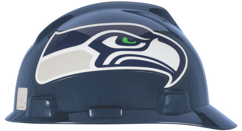 MSA 818410 NFL V-Gard Protective Caps Seattle Seahawks