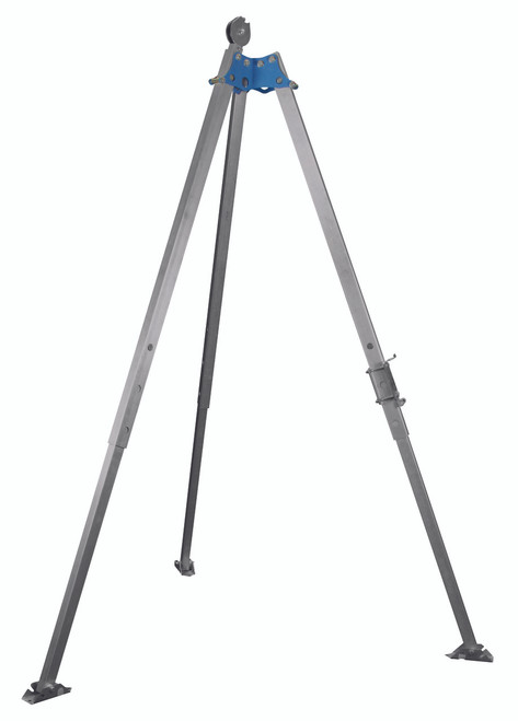 FallTech 7274 7' Aluminum Tripod with Bracket and Pulley