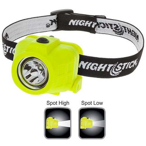 Bayco XPP-5450G Green Intrinsically Safe Dual-Function Headlamp