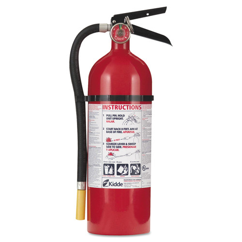 Kidde 466112 Pro 340 Consumer Fire Extinguisher 5 lbs ABC 4PK