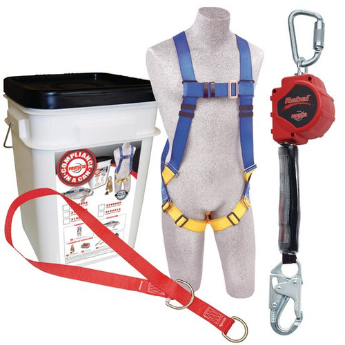 Protecta 2199819 Compliance in a Can Roofer's Fall Protection Kit