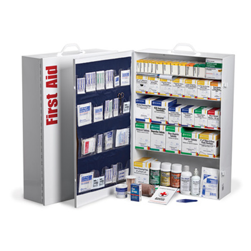 First Aid Only 249-O/P 5 Shelf Industrial Station 200+ Person