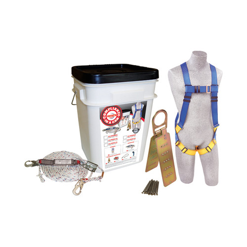 DBI SALA 2199811 Compliance Roofer's Fall Protection Kit - 25-Pack