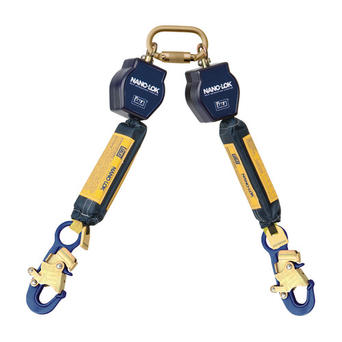 DBI SALA 3101272 Twin-Leg Quick Connect Self Retracting Lifeline 6'
