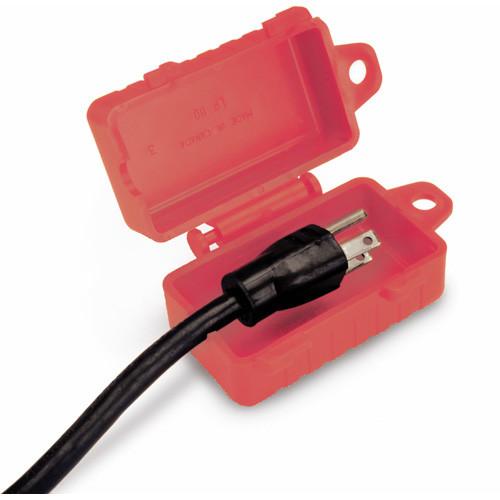 North LP110 E-Safe Single Entry Plug Lockout Accepts 110V
