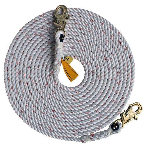 DBI SALA Rope Lifeline with 2 Snap Hooks