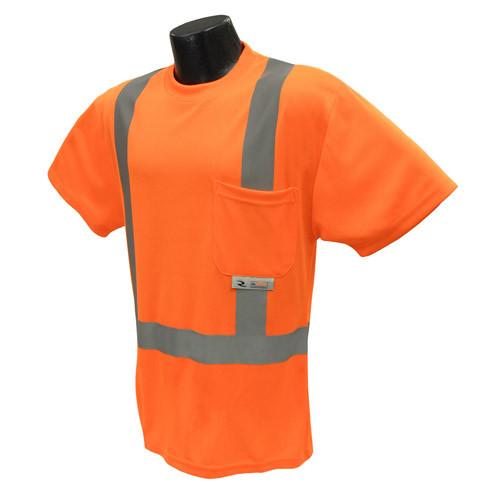 Radians ST11-2POS Class 2 Hi-Viz Safety T-Shirt with Max-Dri