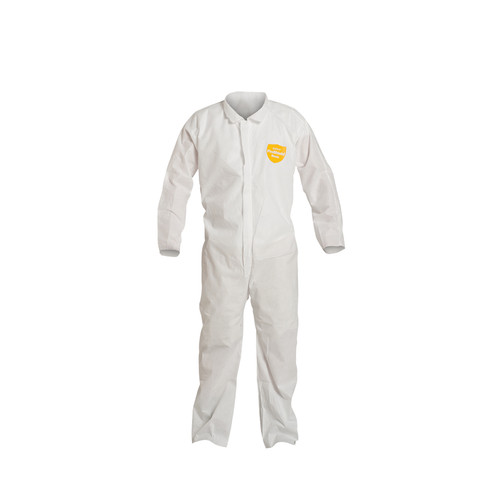 Dupont PB120SW Comfort Fit Design Coverall with Zipper Front (25/Case)