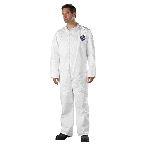 Dupont TY120S Tyvek White Coverall Suits (25/Case)