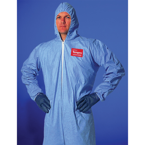 Dupont PB125SB Proshield Blue Nonhazardous Coveralls 25//Case
