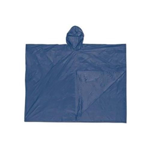 River City 043 Schooner Blue Plastic Ponchos (One Size)